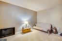 Fifth bedroom on lower level. - 215 ROCK RAYMOND DR, STAFFORD