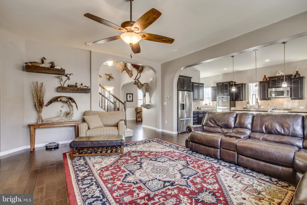 Exceptional open space. - 215 ROCK RAYMOND DR, STAFFORD
