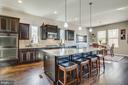 This kitchen really has it all. - 215 ROCK RAYMOND DR, STAFFORD