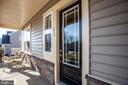 Welcome home!  Cozy front porch. - 215 ROCK RAYMOND DR, STAFFORD