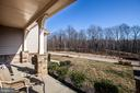 View from front covered porch. - 215 ROCK RAYMOND DR, STAFFORD