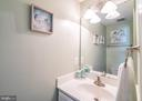 Powder Room on Main Level - 20755 CITATION DR, ASHBURN
