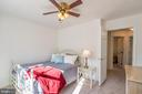 Spacious Secondary Bedroom with Ceiling Fan - 20755 CITATION DR, ASHBURN