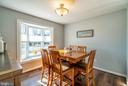 Dining Room with Bay Window - 20755 CITATION DR, ASHBURN