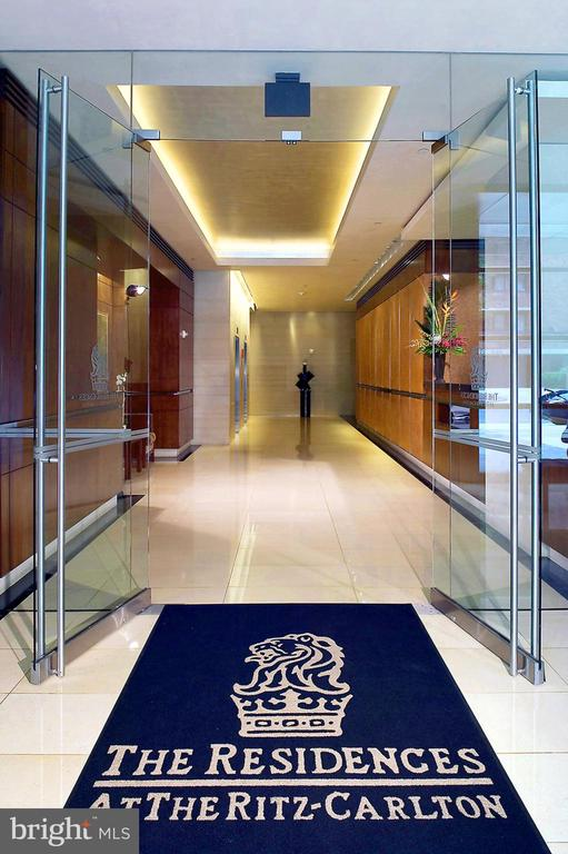 RITZ RESIDENCES ENTRANCE - 1155 23RD ST NW #PH3E, WASHINGTON