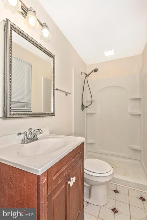 MASTER BATH WITH SHOWER - 2 PARK CT, WALKERSVILLE