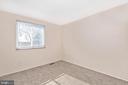 BEDROOM #3 - 2 PARK CT, WALKERSVILLE