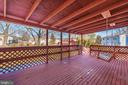 COVERED DECK - 2 PARK CT, WALKERSVILLE