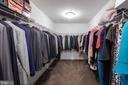 Master closet - 2232 POTOMAC RIVER BLVD, DUMFRIES