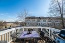 Sunny deck right off the kitchen/breakfast room - 20404 TRAILS END TER, ASHBURN