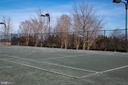 Tennis courts - free to use! - 20404 TRAILS END TER, ASHBURN