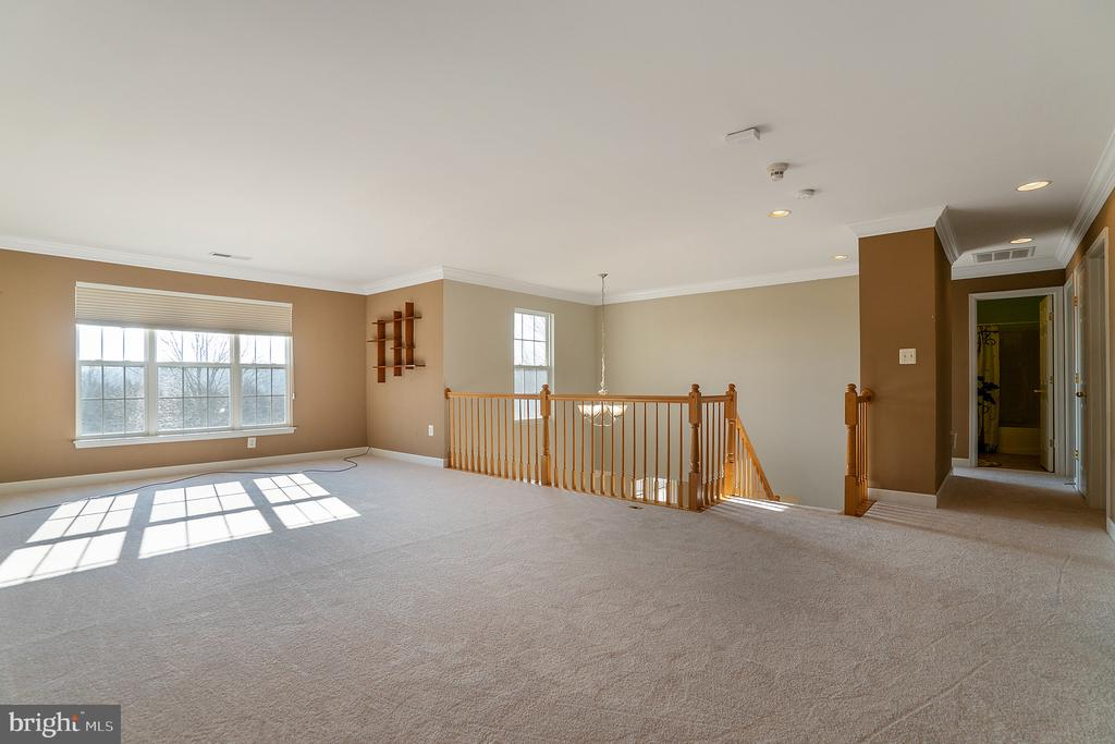 New carpet throughout the upper level - 25975 MCCOY CT, CHANTILLY