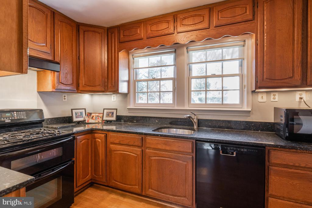 Great view to back yard while washing dishes! - 522 N NORWOOD ST, ARLINGTON