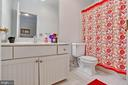 Ensuite Bath for Bedroom 4 - 8309 CRESTRIDGE RD, FAIRFAX STATION