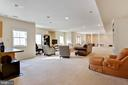 Huge Basement - 8309 CRESTRIDGE RD, FAIRFAX STATION