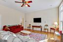 Family Room - 8309 CRESTRIDGE RD, FAIRFAX STATION