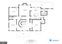 Main  Level Floor Plan - 8309 CRESTRIDGE RD, FAIRFAX STATION