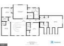Upper Level Floor Plan - 8309 CRESTRIDGE RD, FAIRFAX STATION
