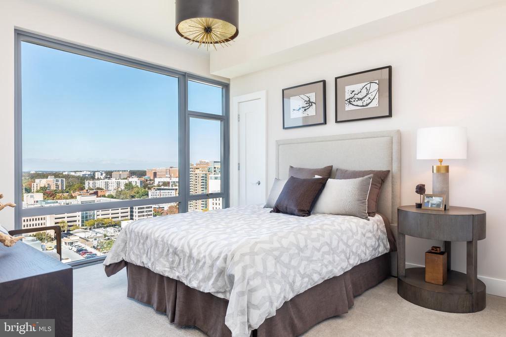 Bedroom - 4960 FAIRMONT AVE #1403, BETHESDA