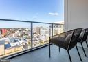 Balcony - 4960 FAIRMONT AVE #1403, BETHESDA