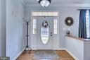 Large Foyer entrance - 122 LAWSON RD SE, LEESBURG