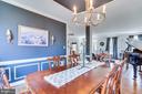.Stunning designer light fixture - 122 LAWSON RD SE, LEESBURG