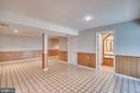 Lower level rec room has bath with jacuzzi tub - 8189 SHIPS CURVE LN, SPRINGFIELD