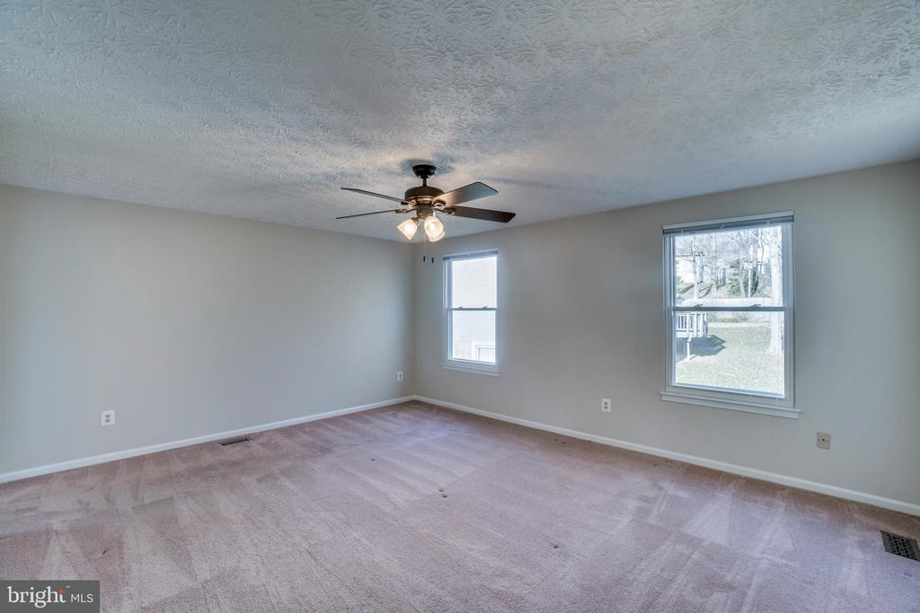 2nd bedroom with ceiling fan - 8189 SHIPS CURVE LN, SPRINGFIELD