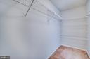 Master walk-in closet - 8189 SHIPS CURVE LN, SPRINGFIELD