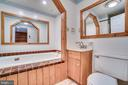 Lower level bath with jacuzzi tub - 8189 SHIPS CURVE LN, SPRINGFIELD