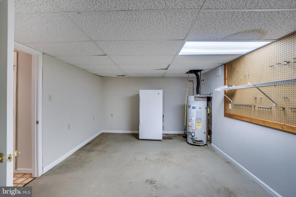 Lower level utility and storage area - 8189 SHIPS CURVE LN, SPRINGFIELD