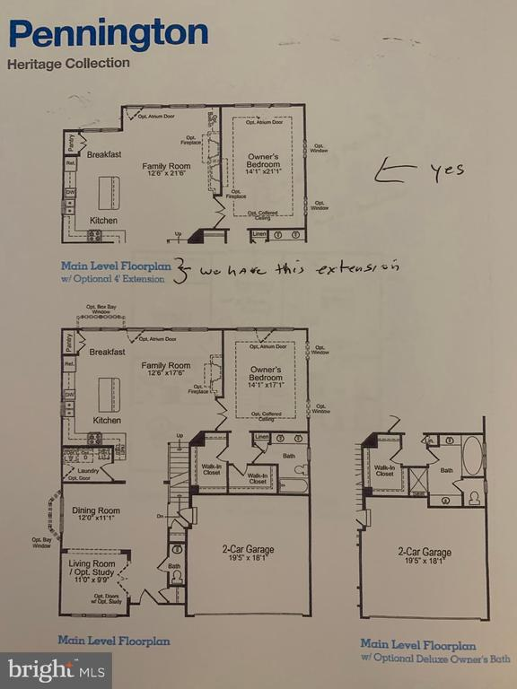 Main Level Floorplan - 21203 NED DR, ASHBURN