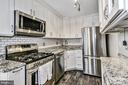 Soft-close cabinets, backsplash & tile floors - 2016 N ADAMS ST #504, ARLINGTON