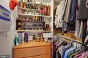 1 of 4 large closets in bedroom - 2907 S WOODSTOCK ST #E, ARLINGTON