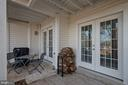 Patio - 2907 S WOODSTOCK ST #E, ARLINGTON