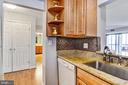 Excellent counter and cabinet space! - 900 N STAFFORD ST #1711, ARLINGTON