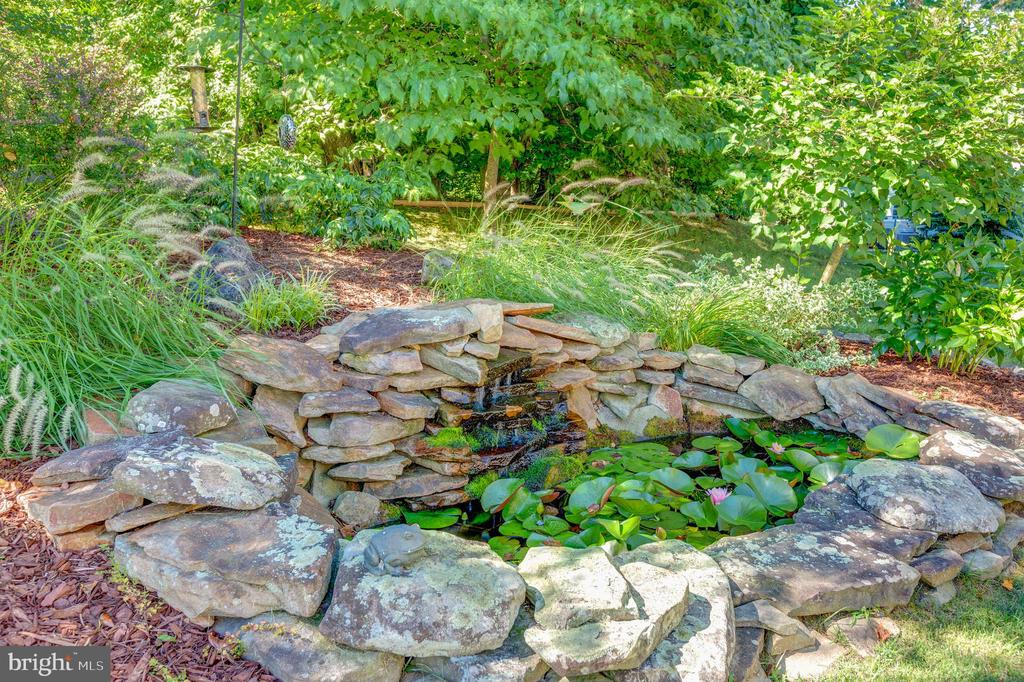 Beautiful Coy Pond - 8651 WIND SONG CT, SPRINGFIELD