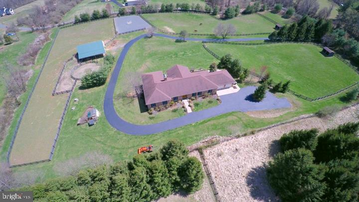 Another aerial view - 39520 CHARLES TOWN PIKE, HAMILTON