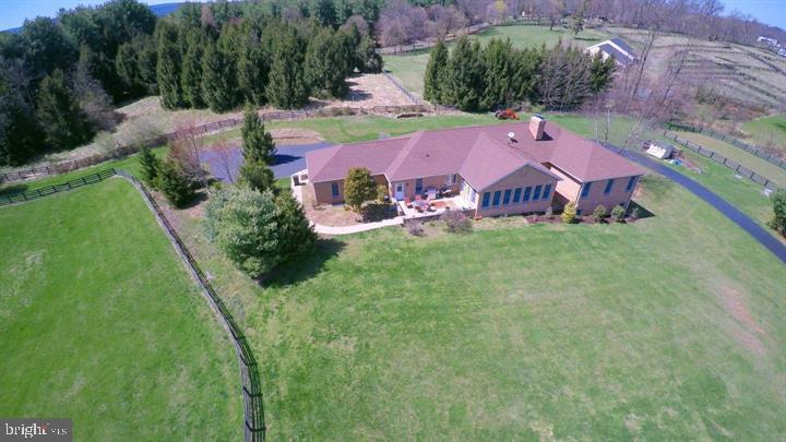 Another aerial view of home - 39520 CHARLES TOWN PIKE, HAMILTON