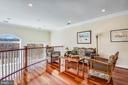Grand Foyer Reception Area Overlooking Living Room - 2052 BEACON HEIGHTS DR, RESTON