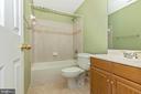 Full Bath on lower Level - 13402 STONEBRIDGE TER, GERMANTOWN