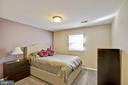 Lower level bedroom 4 - 7506 BOX ELDER CT, MCLEAN