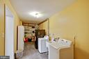 Mud room off 2-car garage with plenty of storage - 7506 BOX ELDER CT, MCLEAN