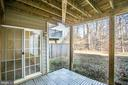 Cosy patio backs to woods - 9603 MASEY MCQUIRE CT, LORTON