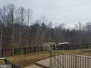 Large fenced are and lots more grassed yard. - 215 ROCK RAYMOND DR, STAFFORD