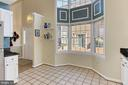 Kitchen with Two Story Bay Window & Breakfast Nook - 608A N TAZEWELL ST, ARLINGTON