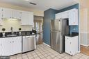 Kitchen with Ceramic Tile Flooring - 608A N TAZEWELL ST, ARLINGTON