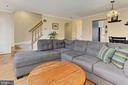 Spacious Living Room - 608A N TAZEWELL ST, ARLINGTON