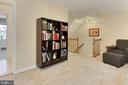 Loft Area Great for a Study/Library/Office - 608A N TAZEWELL ST, ARLINGTON