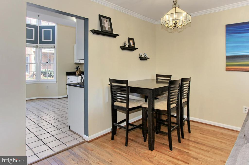 Dining Area Off Kitchen - 608A N TAZEWELL ST, ARLINGTON